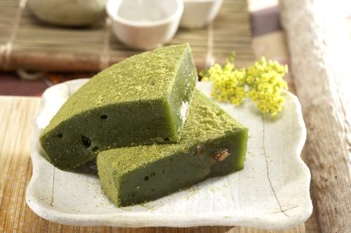 阿美麻糬-綠茶糕
