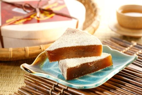 阿美麻糬-黑糖桂圓糕