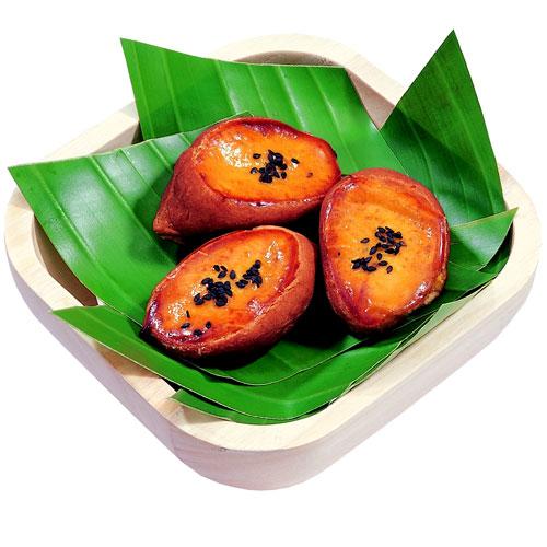 阿美麻糬-燒玉桂蕃薯