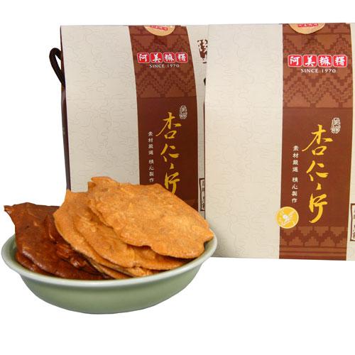 阿美麻糬-原味.黑糖杏仁片